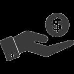 CASH-IN-HAND—black