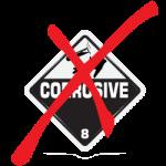 non-corrosive